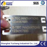 Solución de marcado láser para la etiqueta de aluminio