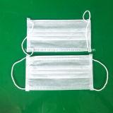 Látex não estéril livre não tecido cirúrgico descartável da máscara protetora