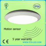 Indicatore luminoso di soffitto di emergenza IP65 LED con il sensore di movimento di microonda in 20W 30W 40W