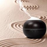 300ml 목제 곡물 휴대용 전기 공기 정화기 Aromatherapy 차가운 안개 초음파 가습기 방향 정유 방향 유포자