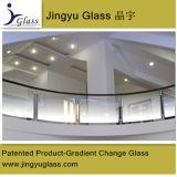 إمتياز نوعية حفر حامض زجاج مع تدرّج درابزين زجاج