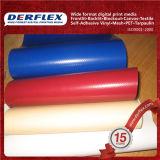 Tissu en polyester revêtuté en vinyle Tissu en nylon recouvert de PVC