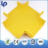 """광학 섬유 케이블 덕트 도수로 2 """" - 12 """"를 위한 플라스틱 PVC 개골창 밀어남"""
