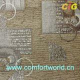 셔닐 실 자카드 직물 소파 직물 (SHSF03924)