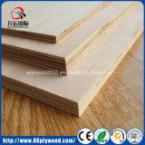 Folha fina comercial da madeira compensada de Bintangor Okoume