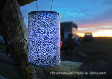 Linterna solar de neón decorativa colgante al aire libre de la nueva llegada