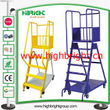 Supermaket와 Warehouse를 위한 금속 Ladder Hand Cart