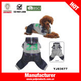 Pet frais Clothes Dog Clothes Pet Coats avec Hat (YJ83662)