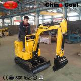 Excavatrice de chenille de route de roue d'utilisation du verger Gh10 mini