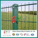 Doppio recinto di filo metallico saldato /Galvanized della barriera di sicurezza del collegare doppio