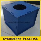 4X8 feuille en plastique cannelée ridée par feuille creuse populaire de la taille pp