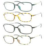 Optische Frame van uitstekende kwaliteit van het Oogglas Ultem het Plastic Eyewear met Slank Roestvrij staal 3308