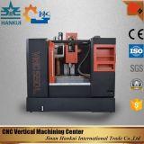 X перемещение 650mm оси для центра CNC вертикального подвергая механической обработке