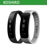 Braccialetto astuto di forma fisica di attività di Bluetooth OLED