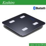 Corpo humano de Bluetooth que pesa a escala gorda com APP livre