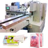 Máquina de embalaje de tejido de servilletas con empaquetadora de bolsillo