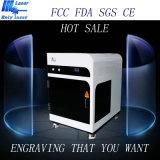 2D máquina de gravura de cristal do laser do presente 3D com certificação do CE