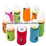 Suporte de frasco feito sob encomenda novo de bebê do neopreno de Deisgn, saco do refrigerador do frasco de bebê do neopreno