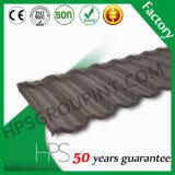 Da pedra quente do material de construção da venda de África folha de metal ondulada revestida