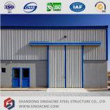 Entrepôt de stockage de structure en acier léger