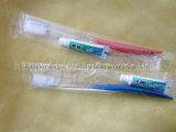 安定した十分のパフォーマンスステンレス製の使い捨て可能な歯磨き粉の歯ブラシの包む機械