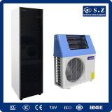Top10 salvan la potencia Cop5.32 Tankless 5kw, 7kw, radiador máximo del 80% de Withsolar de la pompa de calor del aire de la agua caliente 220V de 9kw 60deg c que calienta el pequeño hogar