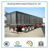 De Semi Aanhangwagen van de Vrachtwagen van de staak met 3 Assen