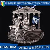 ダイカストの金属メダルを