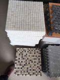 Белые мраморный плитки мозаики для сбывания