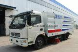 Dongfeng 6 Wielen zuigt de Schoonmakende Vrachtwagen van de Straat van de Veger 5m3