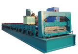 Het volledig Automatische Gezamenlijke Verborgen Blad die van het Dakwerk van het Staal Machine vormen (XH760)