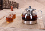 POT inferiore inossidabile del caffè della caldaia di tè del corpo di vetro