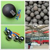 billes en acier de meulage moulées de extraction de billes de centrale électrique d'usine de la colle de 25mm à de 125mm