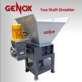 Metal/pneu durável/Shredder plástico dobro/dois eixos