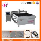 Die cnc-Maschine wird für Glasschneiden verwendet