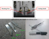 Cortadora plástica automática del papel de la fibra del CNC