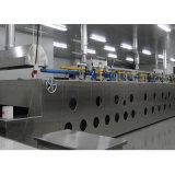 Linha de produção profissional forno de túnel elétrico do gás para a fábrica Bds-14D do alimento