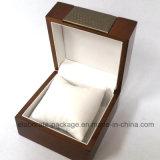 Rectángulo de madera del cosmético del rectángulo del perfume de la venta al por mayor del rectángulo del conjunto del reloj del brazalete