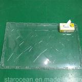 Plateau en plastique transparent surdimensionné d'emballage en plastique