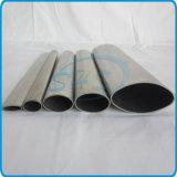 Tubi ovali ellittici dell'acciaio inossidabile per la maniglia di portello di vetro