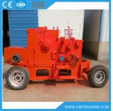 Máquina Chipper de madeira móvel do motor Ly-318 Diesel