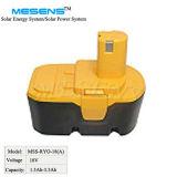 Batterie des Wiedereinbau-Energien-Werkzeug-18V für Ryobi Ni-CD NI-MH