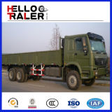 HOWO 6X4のバルク重い貨物トラック30tのディーゼル貨物トラック
