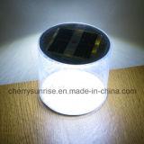 Luz de acampamento inflável da potência solar da lanterna solar branca portátil do diodo emissor de luz