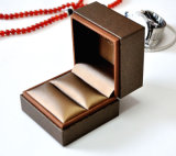 De Doos van de Juwelen van het leer voor ring-Ys378
