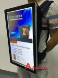 Video Jacket Advertising Player com saco Display LCD Digital Signage