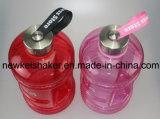 Bottiglia di acqua larga di ginnastica del coperchio 2.2L PETG della bocca