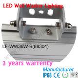 L1000*W45*H62mm 36W refroidissent le blanc, rondelle blanche de mur de couleur de jour vers le haut de la lumière 88034 36W