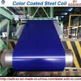 el color del material de construcción de 0.14mm-1.2m m cubierto prepintó la bobina de acero galvanizada