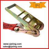 """Trinquete de carga de la correa / de amarre con extensiones W / Chain 4 """"X 27'red"""